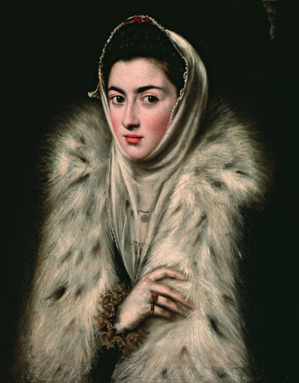 Dama del Armiño, tradicionalmente atribuida al Greco