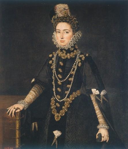Sofonisba Anguissola. Catalina Micaela de Habsburgo. Museo del Prado