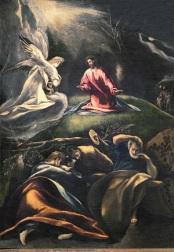 """El Greco. """"Oración en el Huerto"""" ca. 1600. Andujar (Jaén)"""