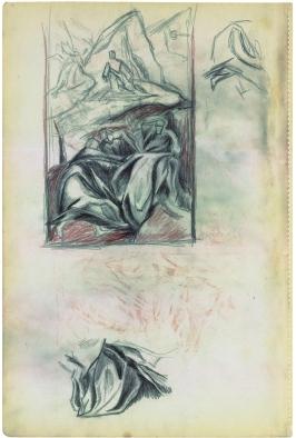 """Jackson Pollock. """"Sin Título"""" ca. 1937-39"""