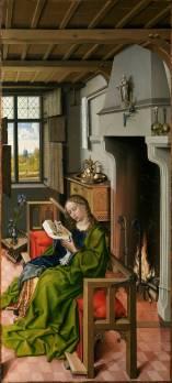 Robert Campin. Santa Bárbara. 1438. Museo del Prado
