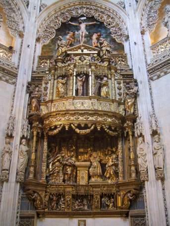 Felipe Vigarny y Diego Siloe. Retablo de la Capilla del Condestable. Catedral de Burgos