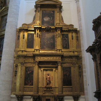 Sebastián Muñoz. Retablo de la Virgen de la Paz. ca. 1645. Catedral de Getafe