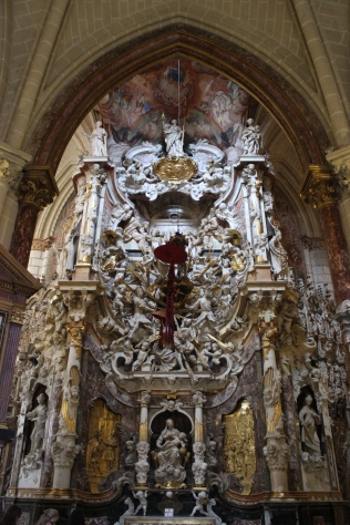 Narciso Tomé. Transparente de la Catedral de Toledo