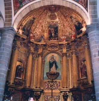 Juan de Lobera (arquit.) y José de Antolínez (pintura). Retablo de la Asunción. Navalcarnero (Madrid)