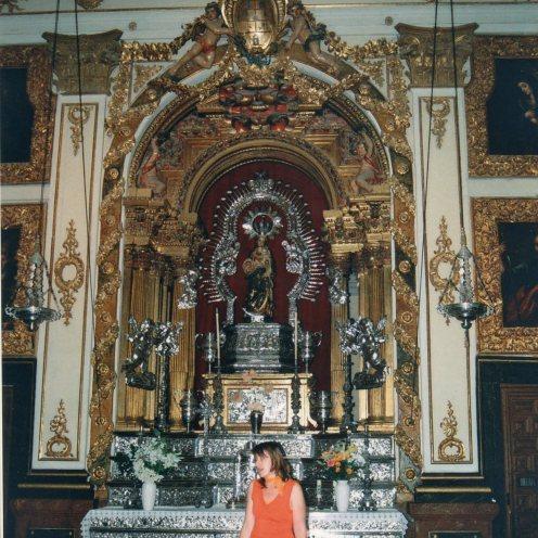 Pedro de la Torre. Retablo- camarín de la Virgen de la Virgen. Navalcarnero (Madrid)