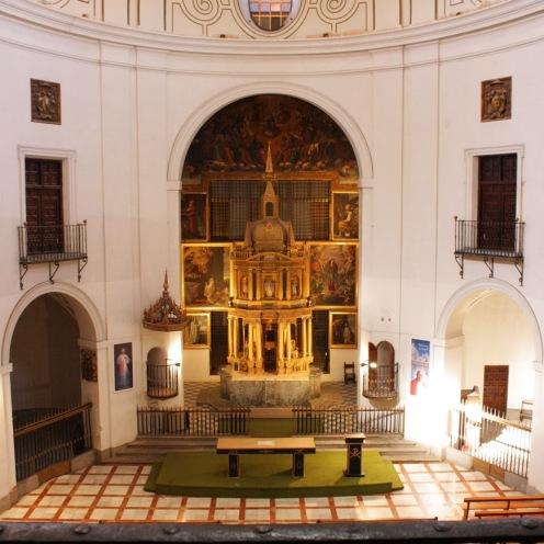 Fco. Bautista. Retablo-Baldaquino. Iglesia de las Bernardas. Alcalá de Henares (Madrid)