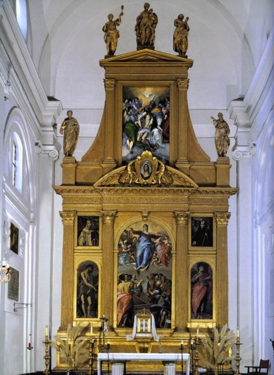 Doménico Greco. Retablo de Santo Domingo El Antiguo. Toledo