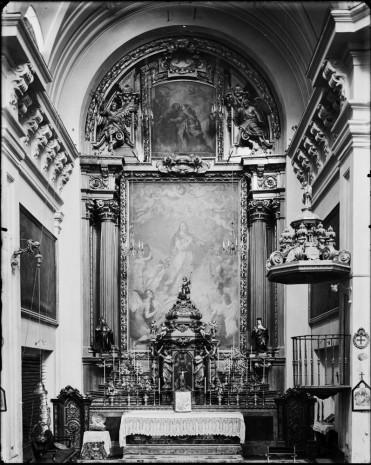 José de Ribera (pintura). Retablo del convento de Sta. Isabel en Madrid (destruído)