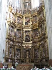 Gaspar Becerra. Retablo Catedral de Astorga (León)