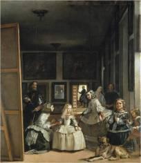 Diego Velázquez. La Familia de Felipe IV o Las Meninas. 1656. Museo del Prado
