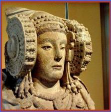 Dama de Elche. Museo Arqueológico Nacional de Madrid