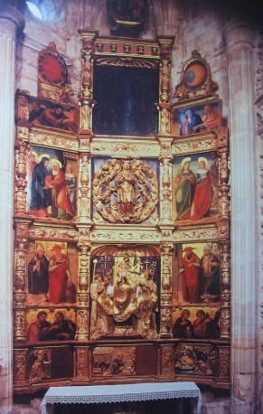 Retablo de la Misa de San Gregorio. Torrelaguna (Madrid)