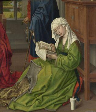 Rogier van der Weyden. Santa María Magdalena leyendo. Nat. Gallery. Londres