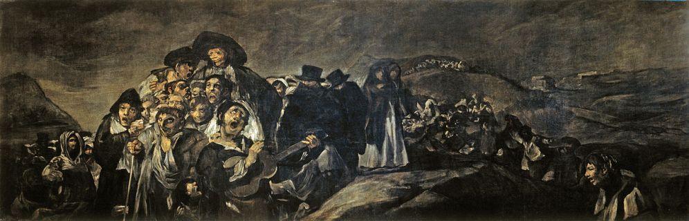 Goya. La romería de San Isidro. Museo del Prado