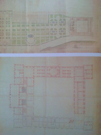 Filippo Juvarra. Proyecto de Palacio para Felipe V en Mesina.