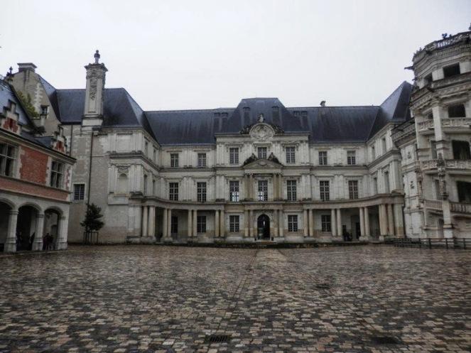 Mansard. Ala Gastón de Orleans del Chateau de Blois