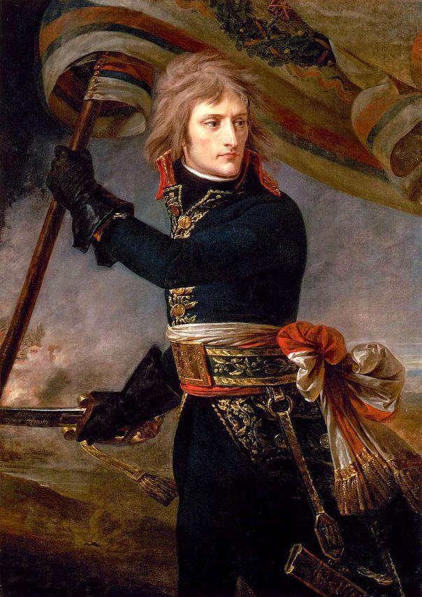 Antoine Gros. Napoleón en el puente de Arcole. 1796. Palacio de Versalles