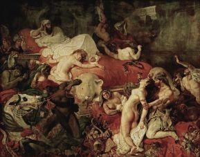 Delacroix. La muerte de Sardanápalo. 1827. Museo del Louvre