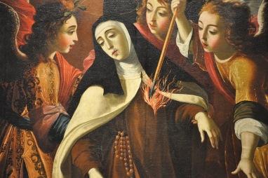 Josefa de Obidos. Éxtasis de Santa Teresa