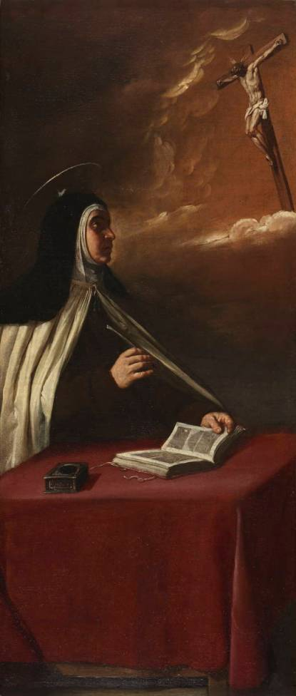 Alonso Cano. Visión de Santa Teresa. Museo del Prado