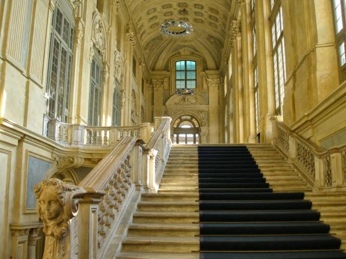 Detalle del Palazzo Madama. Turín