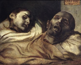 Theodore Gericault. Estudio de dos cabezas cortadas. ca. 1818