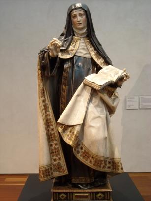 Gregorio Fernández. Santa Teresa de Jesús. MNE