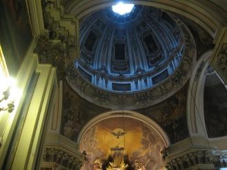 Detalle de la cúpula y ábside