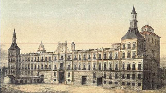 Fachada del Alcázar de Madrid