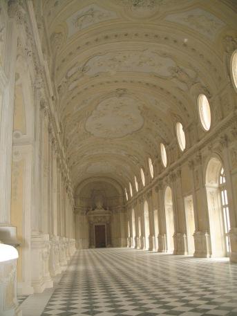 Filippo Juvarra. Gran galería de la Reggia de Venaria Reale. Piamonte