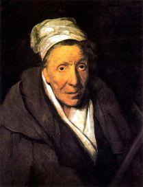 Theodore Gericault. Retrato de anciana loca. ca. 1822-28. Museo del Louvre