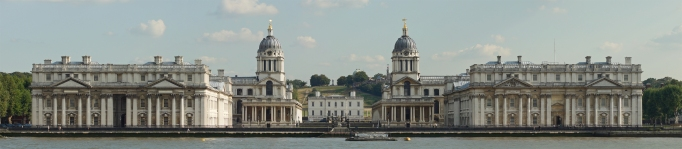 Christopher Wren. Hospital de Greenwich.