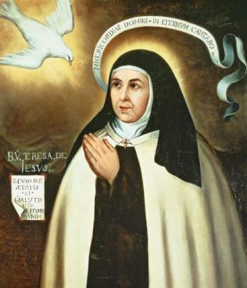 Fray Juan de la Miseria. Retrato de Santa Teresa (copia)