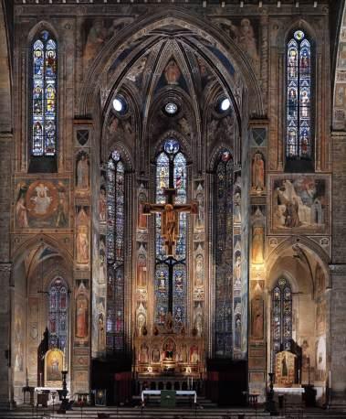 Santa Croce. Altar mayor. Florencia