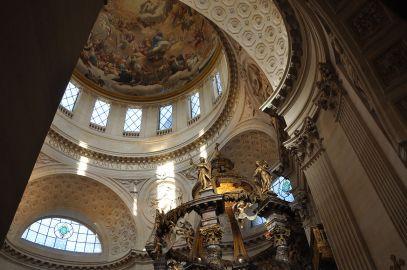 Interior de la iglesia de Val-de-Grâce
