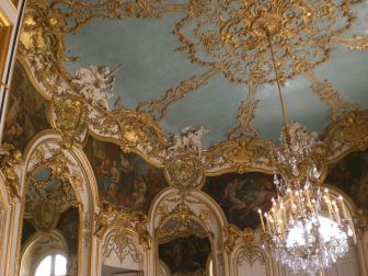 Germain Boffrand. Interior del Hôtel Soubise