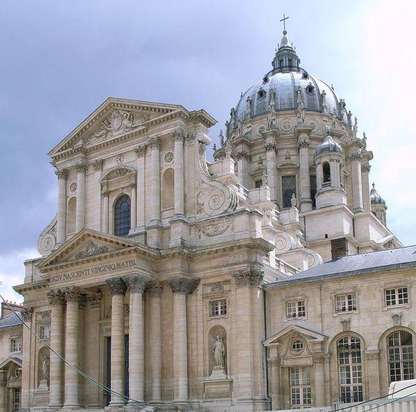 Exterior de la iglesia de Val-de-Grâce