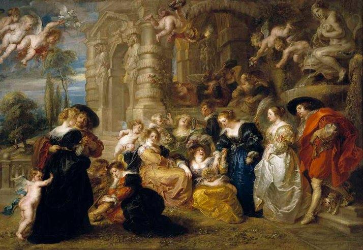 Pedro Pablo Rubens. El Jardín del Amor. Ca. 1630. Museo del Prado [Foto: Wikimmedia]