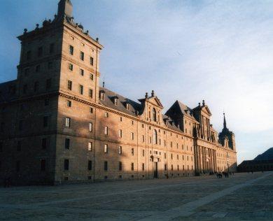 Fachada monasterio de El Escorial