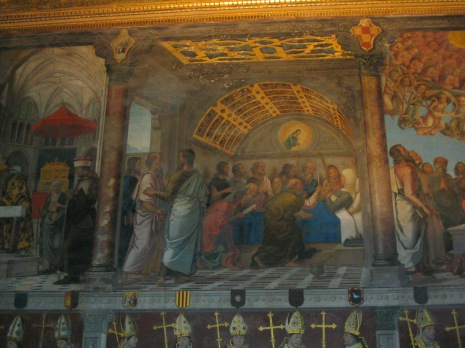 Tránsito. Juan de Borgoña. Sala capitular. Catedral de Toledo