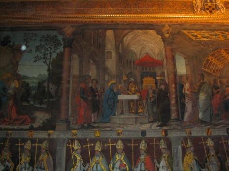 Presentación en el Templo. Juan de Borgoña. Sala capitular. Catedral de Toledo