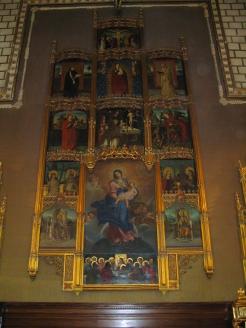 Retablo. Capilla mozárabe Catedral de Toledo