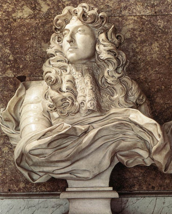 Gian Lorenzo Bernini. Busto de Luis XIV. 1665. Versalles