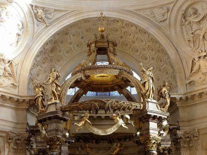 Remate del baldaquino iglesia Val-de-Grâce