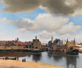 Johannes Vermeer. Vista de Delf. 1661. Mauritshuis, La Haya [foto: Wikimedia]