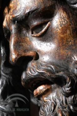Juan de Mesa. Jesús del Gran Poder (detalle antes de la restauración) foto: IAPH