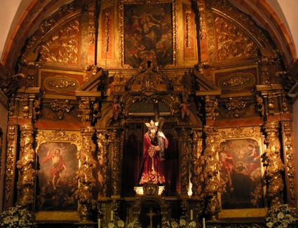 Retablo de Jesús Nazareno. Sisante (Castilla - La Mancha)