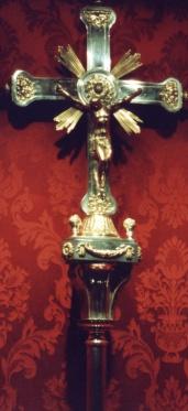 Manuel Ignacio Vargas Machuca. Cruz procesional. 1813. Iglesia de San Ginés. Madrid