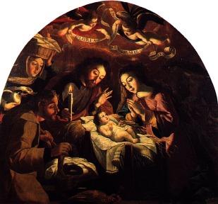 Josefa de Óbidos. Adoración de los pastores